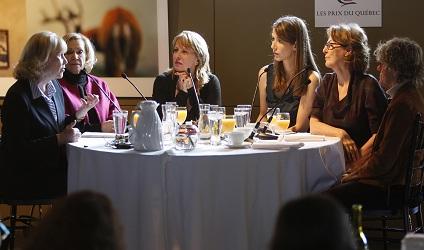 Photographie de Marie-ève de villiers, Monique Mercure, Christine St-Pierr
