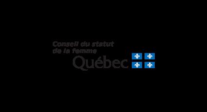 Image du logo du Conseil du statut de la femme
