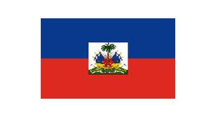 Illustration du drapeau Haïtien