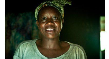 Photographie d'une Burkinaise.