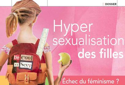 Hypersexualisation des filles.