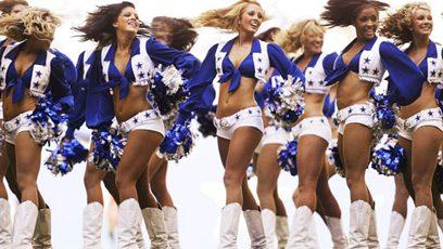 Cheerleaders des Cowboys de Dallas
