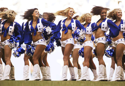 Cheerleaders des Cowboys de Dallas