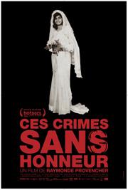 Affiche du film Ces crimes sans honneur