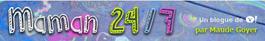 Logo du site Internet de Maman24/7