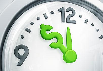 Image d'une horloge.