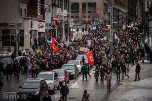 Photographie de la manifestation