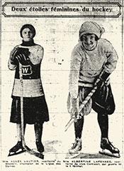 Photographie Albertine Lapensée et Agnès Vautier.