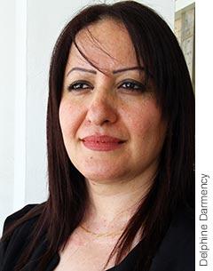 Photographie de Vala Ibrahim, députée du Parti démocratique du Kurdistan.