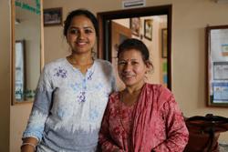 Photographie de Prabha Bhattarai et Shakti Samuha.