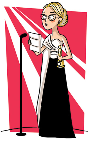 Illustration de Patricia Arquette.