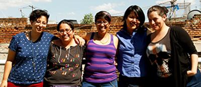 5 lesboterroristes et organisatrices École des droits des jeunes femmes.