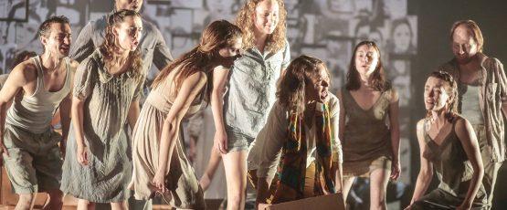 Scène de l'opéra The Trials Of Patricia Isasa.