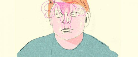 Illustration de Donald Trump.