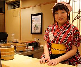 Yuki Chidui, chef sushis à Tokyo.