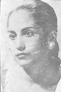 Photographie de Maria Teresa.