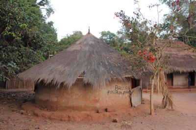 case africaine (maison ronde)